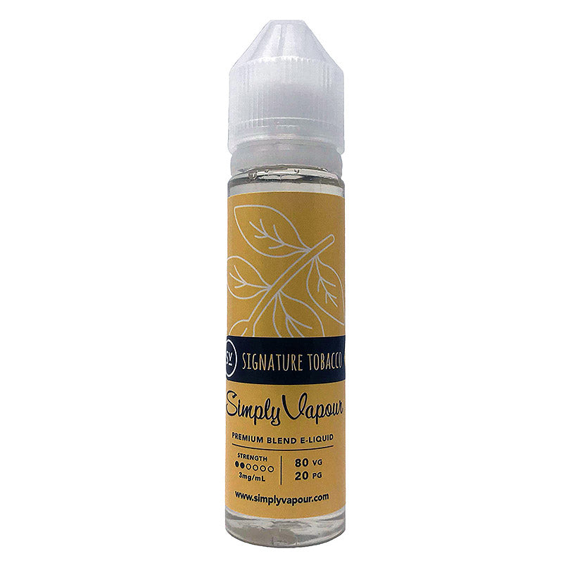 Signature Tobacco E-Juice by Simply Vapour Liquids (60ml)