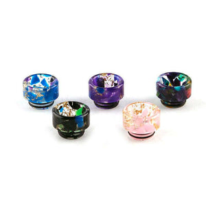 810 Drip Tip - Reverse Cone Epoxy Resin Large Bore Drip Tip Mouthpiece