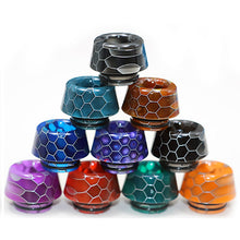Load image into Gallery viewer, 810 Drip Tip - Cone Shape Resin Snake Skin Drip Tip