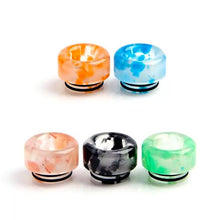 Load image into Gallery viewer, Glow in the Dark Acrylic Wide Bore 810 Drip Tip