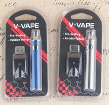 Load image into Gallery viewer, V-VAPE LO Preheat VV Battery For 510 Ecig and Oil Carts (650mAh, Charger Included)