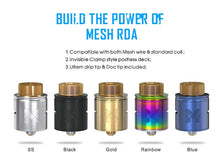 Load image into Gallery viewer, Vandy Vape MESH RDA Rebuildable Dripping Atomizer w/ BF Pin