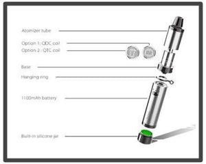 Yocan Regen Advanced Wax Vaporizer Pen (Quartz Dual & Triple Coil)