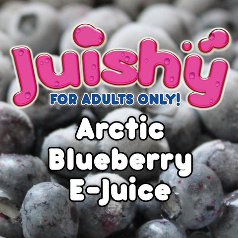 Arctic Blueberry E-Liquid by Juishy E-Juice