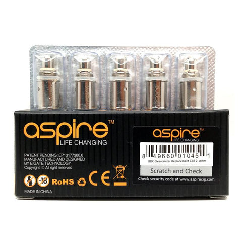 Aspire BDC Replacement Coils (5-Pack)