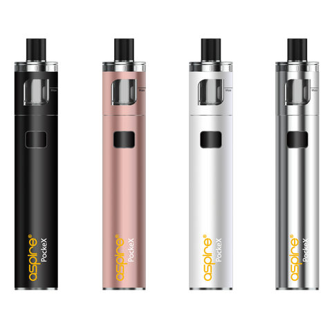 Aspire PockeX All-In-One Vape Pen Kit for E-Liquids