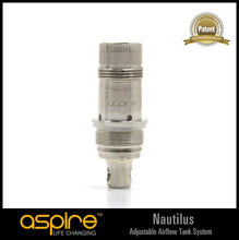 Load image into Gallery viewer, Aspire Nautilus Tank BVC Atomizer