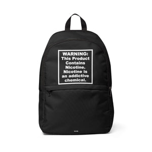 FDA Warning Backpack