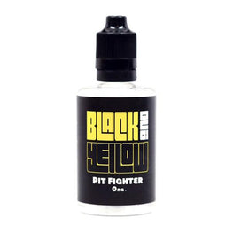 Black and Yellow E-Juice - Pit Fighter (Peach Iced Tea) (60ml)