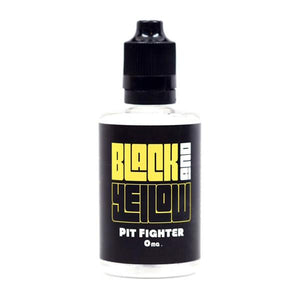 Pit Fighter - Peach Iced Tea E-Juice by Black and Yellow (60ml)