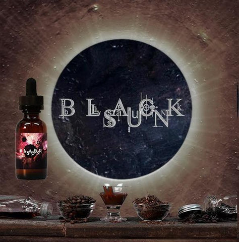 Black Sun E-Juice - Maple Tobacco Caramel Coffee E-Liquid (30ml)