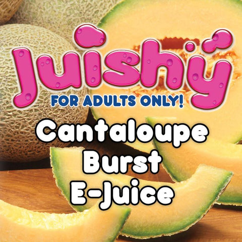 Cantaloupe Burst E-Liquid by Juishy E-Juice