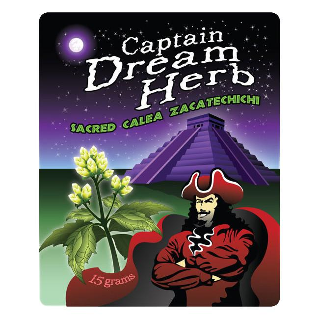 Captain Dream Herb Tea / Calea Zacatechichi (15g)