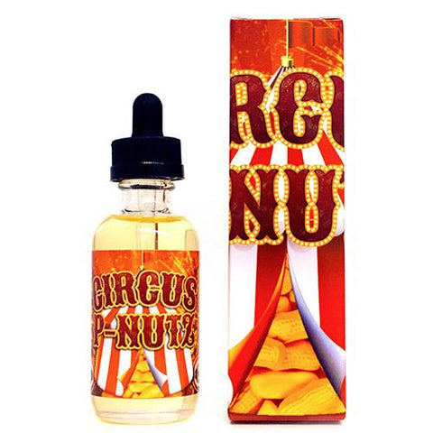 Circus P-Nutz E-Juice (Banana, Marshmallow) (60ml)