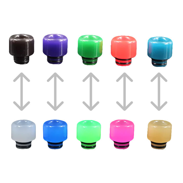 Buy Color Changing 510 Drip Tip At Vapes For Only 4 99