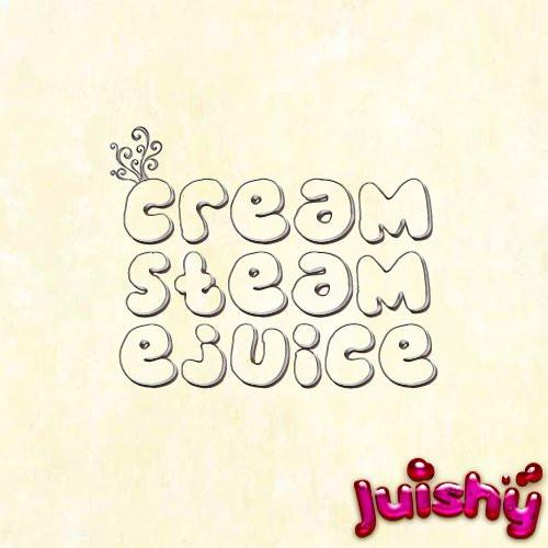 Cream Steam E-Liquid by Juishy E-Juice (100ml)