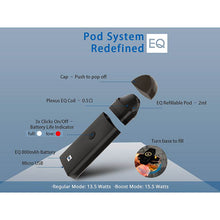 Load image into Gallery viewer, Innokin EQ Pod Mod Starter Kit Vaping System (800mAh)