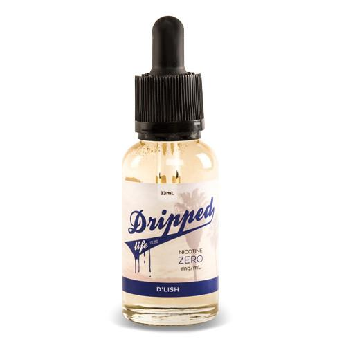 D'lish E-Liquid by Dripped Life (Berry Cake Donut E-Juice) (30ml)