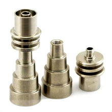 Load image into Gallery viewer, Domeless Titanium Nail for Enail Coil (Universal Male/Female Adapter)