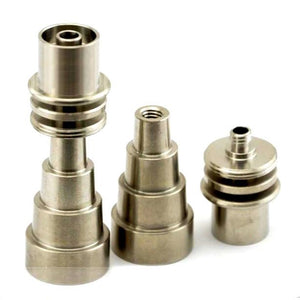 Domeless Titanium Nail for Enail Coil (Universal Male/Female Adapter)