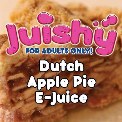 Dutch Apple Pie (π) E-Liquid by Juishy E-Juice (100ml)