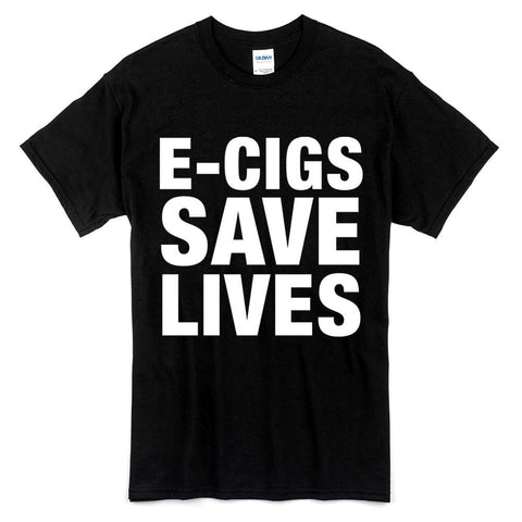 E-Cigs Save Lives T-Shirt
