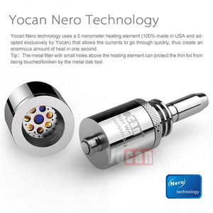 Yocan EXgo W4 Atomizer for Wax Concentrates