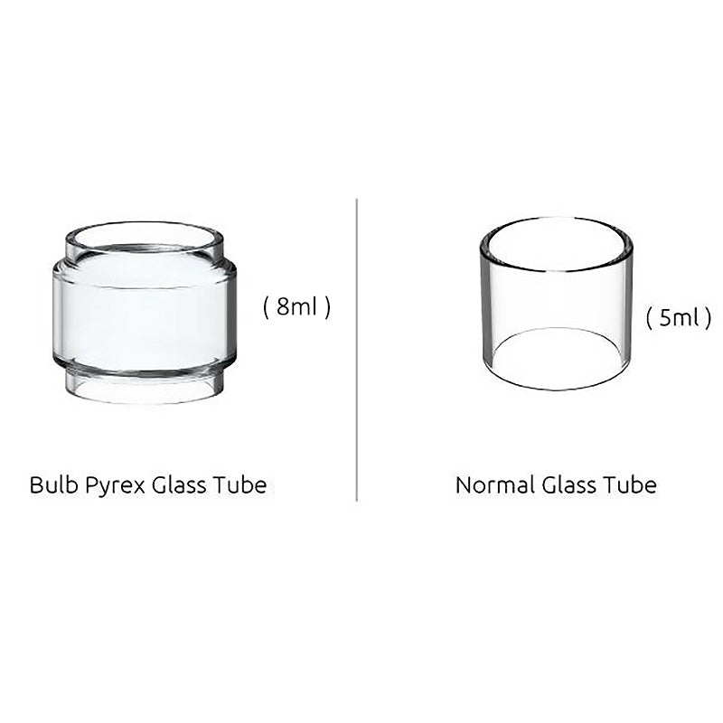SMOK TFV12 Prince Replacement Glass Tank Tube/Expansion Bulb