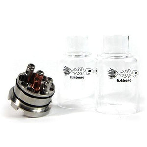 Fishbone RDA w/ Glass Tank by iCloudCig