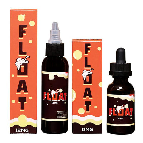 Float E-Juice (Root Beer Float + Vanilla Ice Cream E-Liquid)