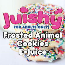 Load image into Gallery viewer, Frosted Animal Cookies E-Liquid by Juishy E-Juice (100ml)