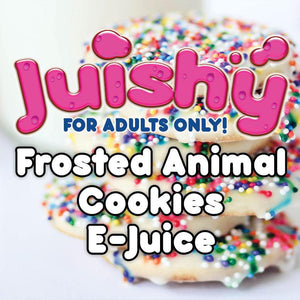 Frosted Animal Cookies E-Liquid by Juishy E-Juice (100ml)