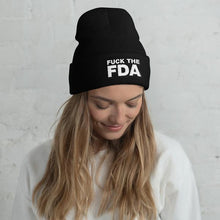 Load image into Gallery viewer, Fuck the FDA Beanie Cap