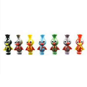 Handmade Glass Duck 510 Drip Tip