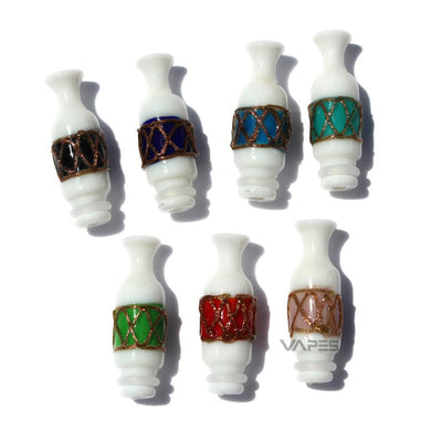 Glass Reseau Vase Drip Tips