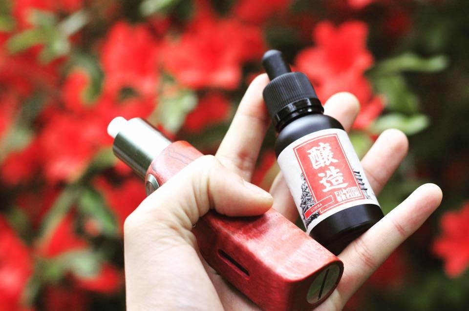 Gojira E-Juice by Fu Man Brews (Strawberry Biscuit Poky Japan)