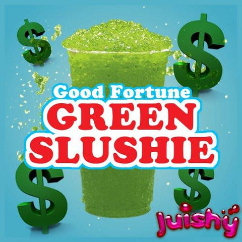 Green Slushie E-Liquid by Juishy E-Juice