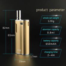 Load image into Gallery viewer, Hibron H10 Oil Vaporizer Starter Kit for Concentrates (650mAh)