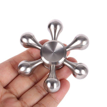 Load image into Gallery viewer, Molecule Fidget Spinner w/ 6-Node Hexagonal Detachable Arms