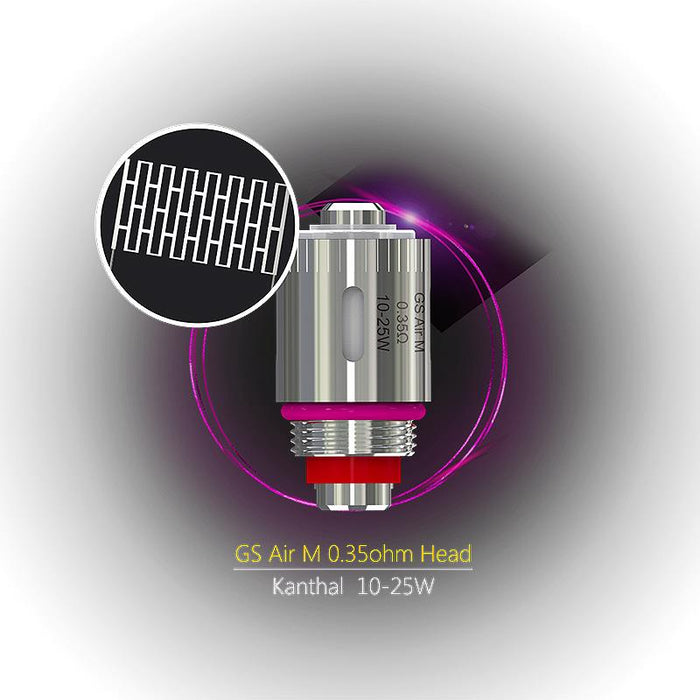 Eleaf GS Air Coil / GS Air M / GS TC Air Ni Replacements Coils (5 pack)