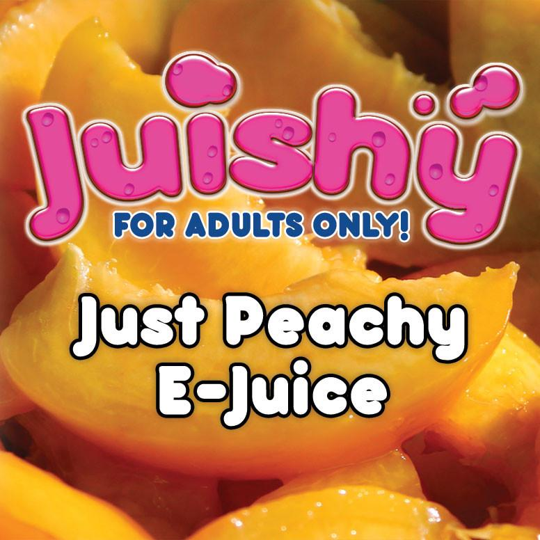 Just Peachy E-Liquid by Juishy E-Juice (100ml)