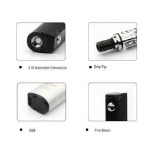 Load image into Gallery viewer, Justfog Q16 Starter Kit Vape Pen w/ J-Easy 9 Mod (900mah)
