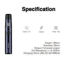 Load image into Gallery viewer, Kanger K-Pin Mini All-in-One Starter Kit - 2ml (1500mAh)