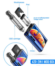 Load image into Gallery viewer, Kangvape 420 Vape Battery 2-In-1 Box Mod