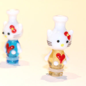 Glass Kitty 510 Drip Tips (Handmade)