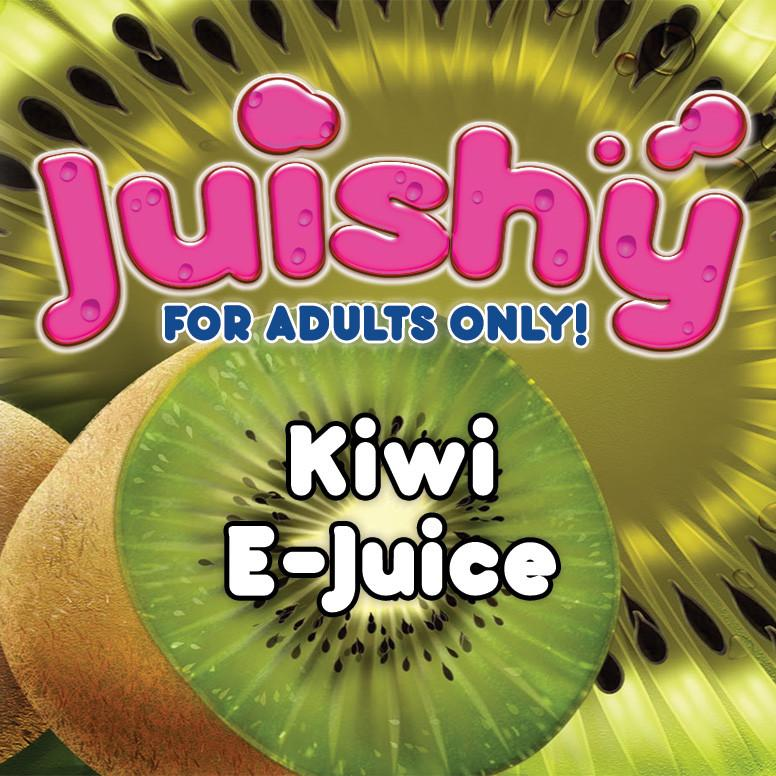 Kiwi E-Liquid by Juishy E-Juice (100ml)