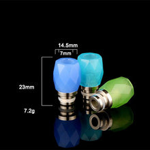 Load image into Gallery viewer, 510 Large Diamond Jewel Drip Tips