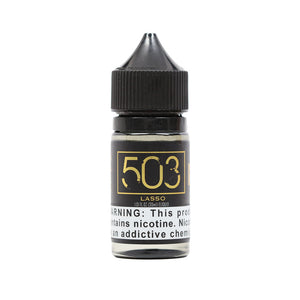 Bottle of Lasso Salt Nicotine Vape Juice by 503 eLiquid (30ml)