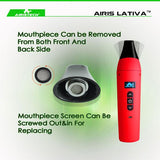 Airistech Lativa Portable Herbal Vaporizer (Non-Combustion Baking)