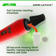 Load image into Gallery viewer, Airistech Lativa Portable Herbal Vaporizer (Non-Combustion Baking)